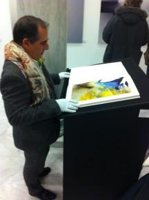 JoseMiguel Carrillo de Albornoz explores the body in Mappa Corpo.